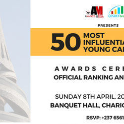 50 Most Influential Young Cameroonians Award Ceremony