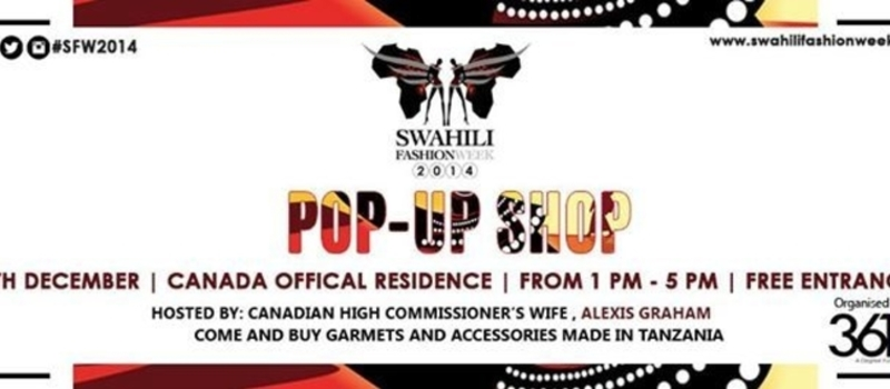 Swahili Fashion Week; Pop UP Shop