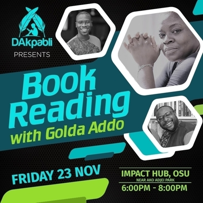 Book Reading with Golda Addo