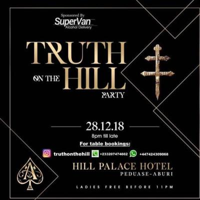 Truth on the hill party