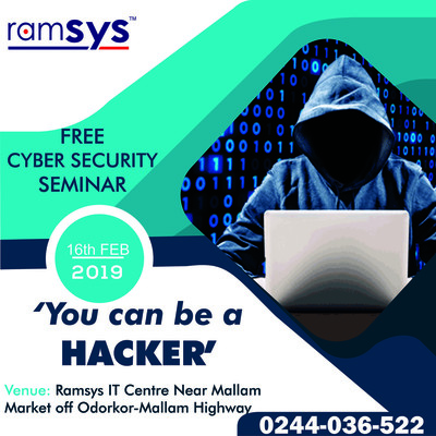 'YOU CAN BE A HACKER' FREE CYBER SECURITY SEMINAR