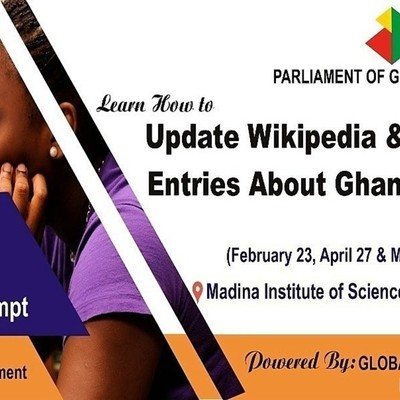 Wikipedia parliament of Ghana edit-a-thon