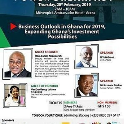 GSABC Business Breakfast 2019