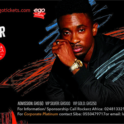 CHRISTOPHER MARTIN LIVE IN GHANA