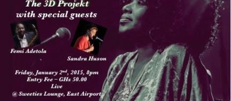 Ofie Kodjoe & Da 3D Projekt with special guests Femi Adetola and Sandra Huson Live at Sweeties Lounge