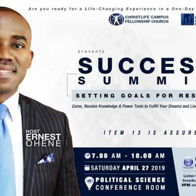 Success Summit with Ps Ernest Ohene
