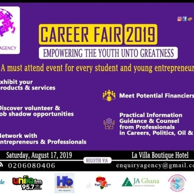 Enquiry Agency Career fair 2019