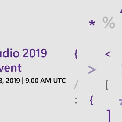 Microsoft Visual Studio 2019 Launch