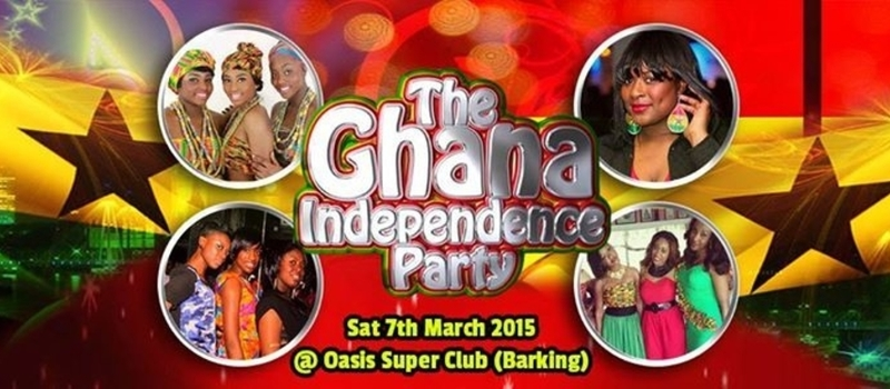 THE OFFICIAL GHANA INDEPENDENCE CELEBRATION DANCE ||| SAT 7th MARCH 2015 ||| INFO: 07782213398 or BBM 29C1EE677