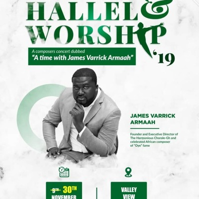 Hallel & Worship'19 - A time with James Varrick Armaah