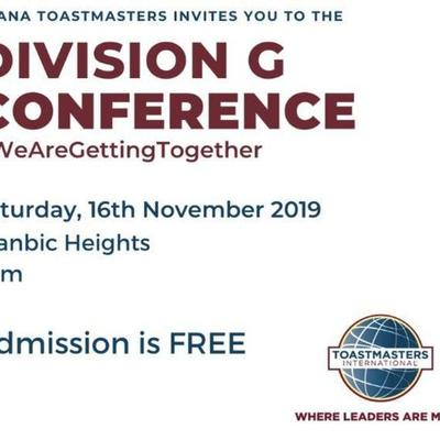Ghana Toastmasters Division G Conference