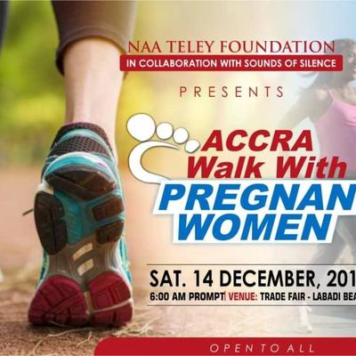 Accra walk with Pregnant women