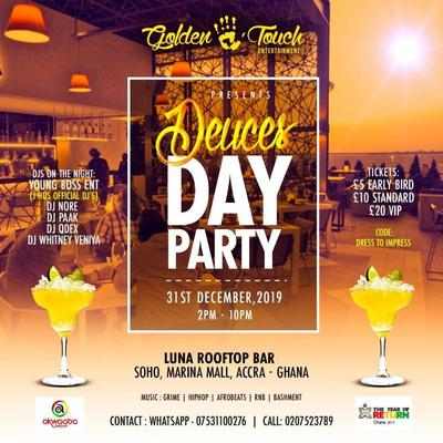 Deuces 2019 - Rooftop Day Party (UK to GH)