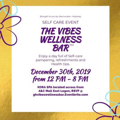 The Wellness Bar™ A Self Care Event