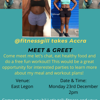 @Fitnessgill Meet and Greet