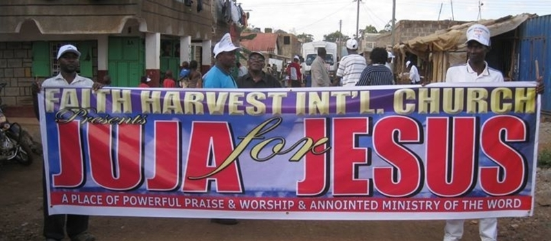 JUJA FAITH HARVEST CHURCH,, JESUS WAIK