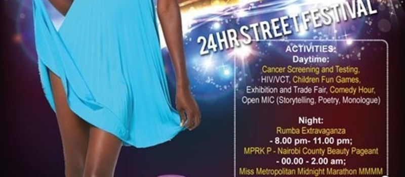 Miss Pink Ribbon Kenya 2014 End Year Cross Over Street Festiva