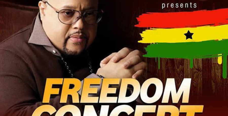 Freedom Concert live with Fred Hammond