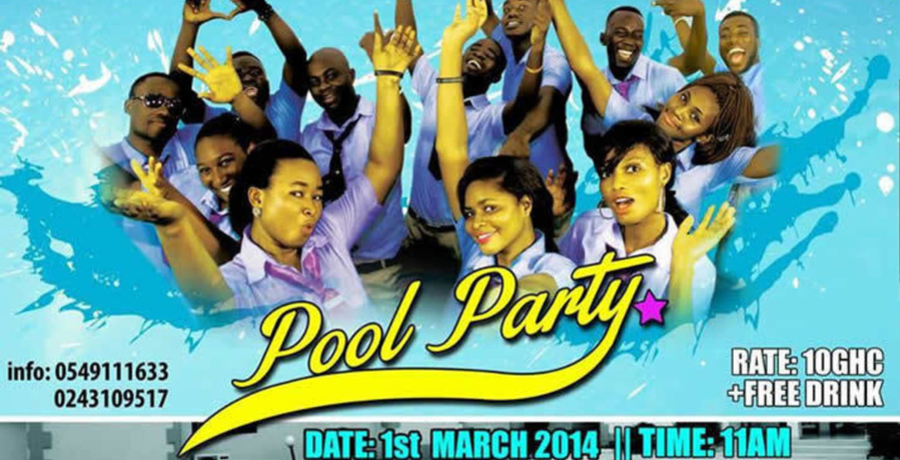 MULTIKOLOURED Pool Party
