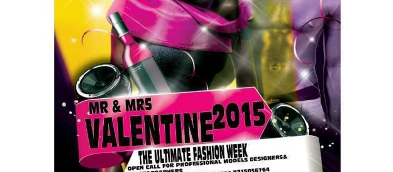 THE ULTIMATE FASHION RUNNWAY featuring Mr.and Miss Valentine's 2015