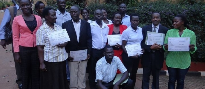 VLSA-Uganda In-service training