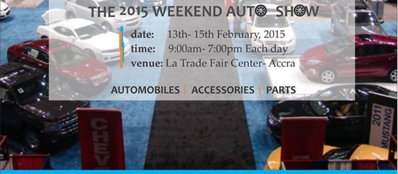 The 2015 Weekend Auto Show