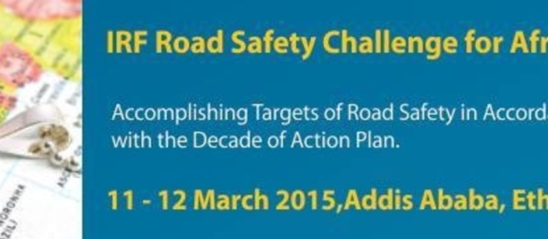 IRF Road Safety Challenge for Africa