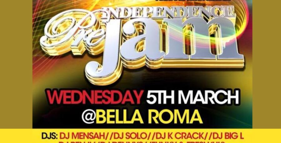 Independence Pre Jam (5th March)