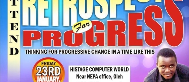 Retrospect for Progress