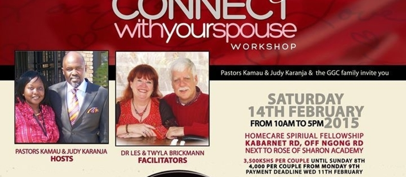 VALENTINE'S DAY, CONNECT WITH YOUR SPOUSE WORKSHOP