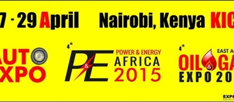 AUTOEXPO KENYA | OIL & GAS AFRICA | POWER & ENERGY AFRICA 2015