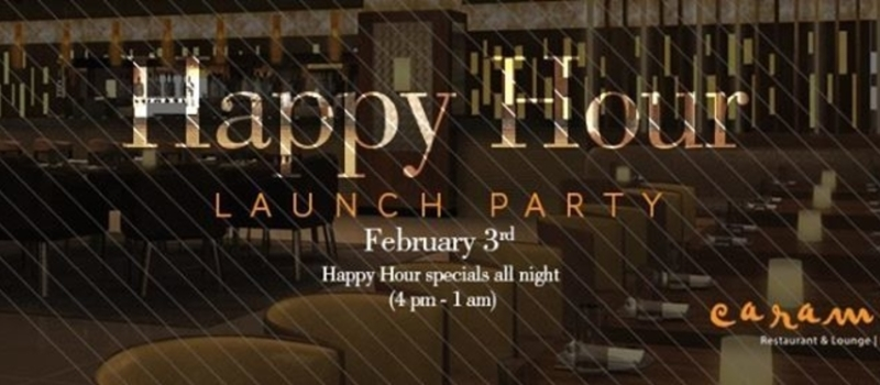 Happy Hour Launch Party