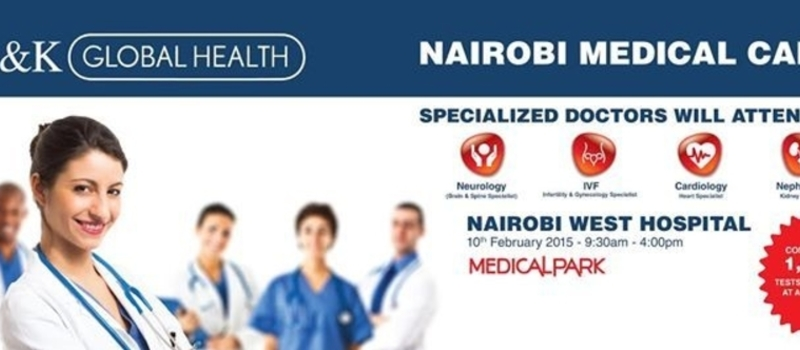 NAIROBI MEDICAL CAMP -(Nairobi West Hospital)