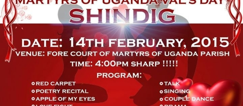 Valentines Day @ Martyrs of Uganda