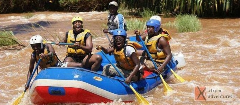"""White Water Rafting & Bungee Jumping Adventure"" March 7th. 2015"
