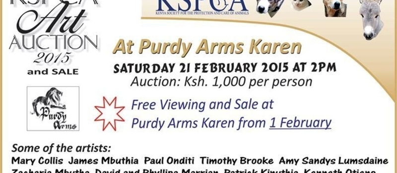 KSPCA Art Auction