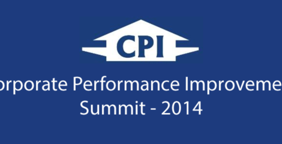 Corporate Performance Improvement Summit (West Africa) - 2014