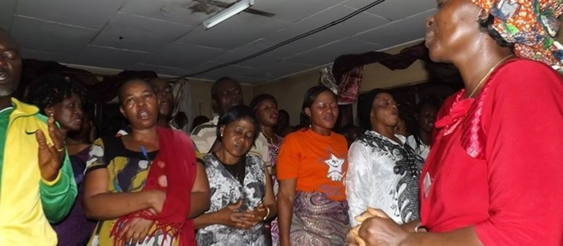 TESSY NWOSU MINISTRIES SUPER SUNDAY WORSHIP SERVICE IN MENZA, BAMENDA, CAMEROON