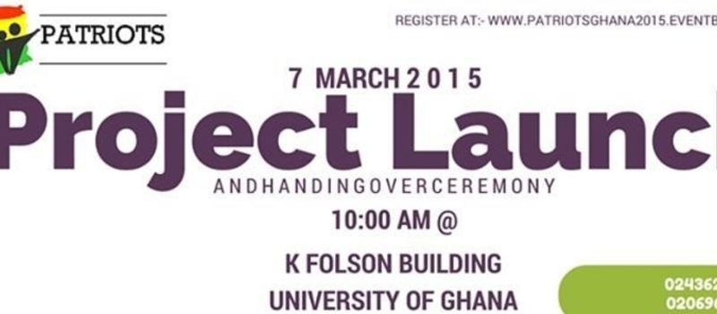 Patriots Ghana Project Launch and Handing Over Ceremony