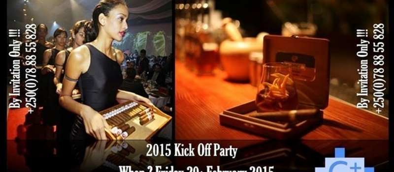 2015, KICK OFF CIGAR PARTY