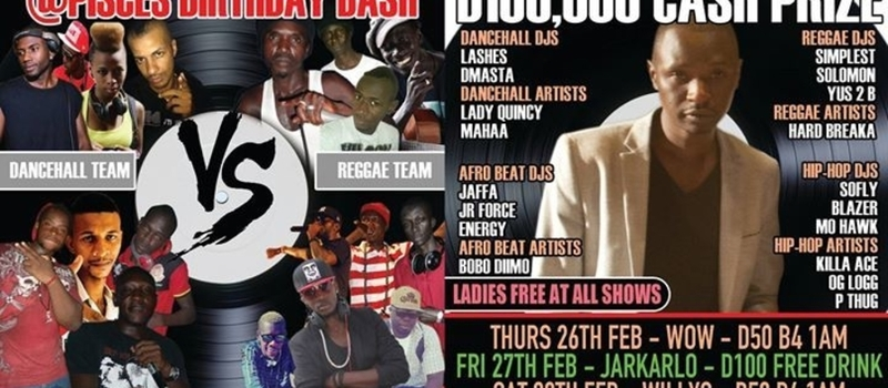 CULTURE CLASH @ PISCES BIRTHDAY BASH