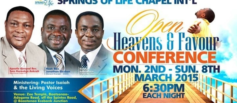 Open Heavens & Favour Conference