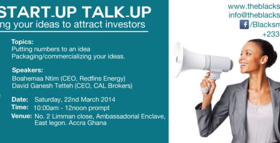 The Start-Up Talk-Up