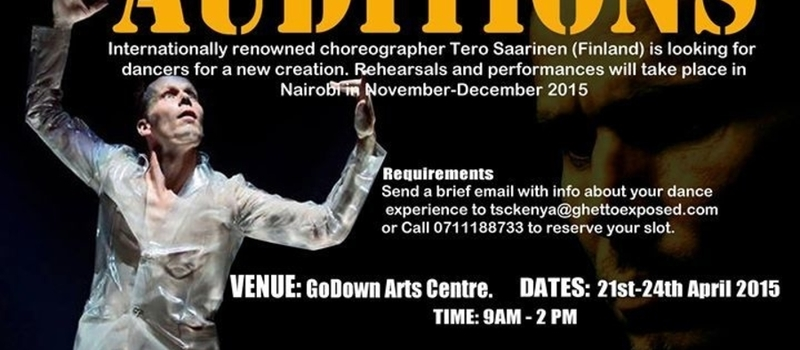Tero Saarinen Company Kenya Dance Auditions