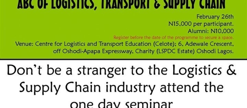ABC of Logistics, Transport & Supply Chain