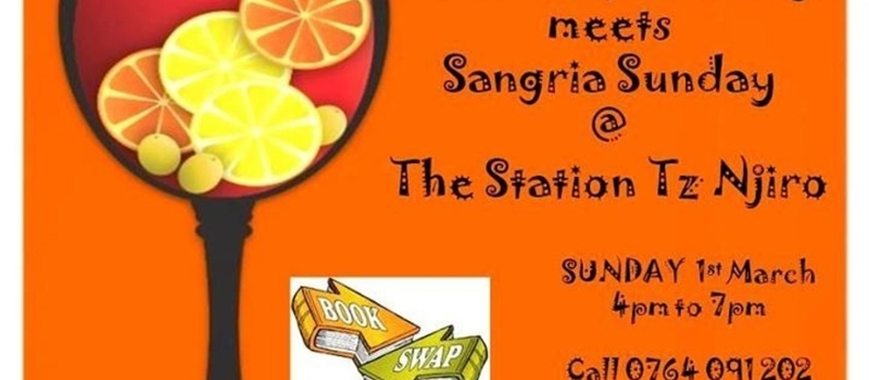 Book Swap Sangria Sunday