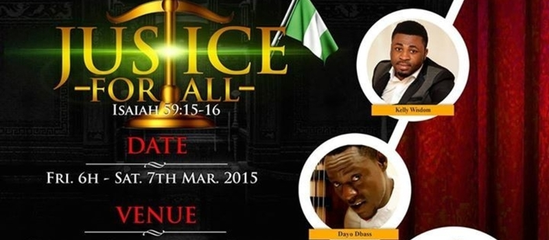 The Empowerment Crusades:Lagos Edition: Justice for ALL Isaiah 59:15-16