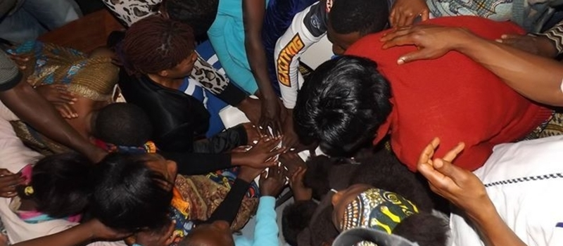 TESSY NWOSU MINISTRIES WEEKLY WEDNESDAY CELL GROUP/BIBLE STUDY IN MENZA, BAMENDA, CAMEROON