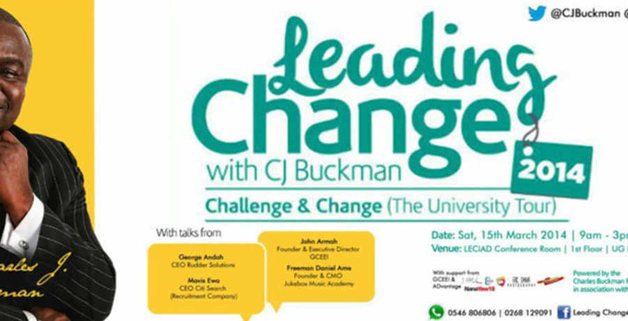 Leading Change with CJ Buckman