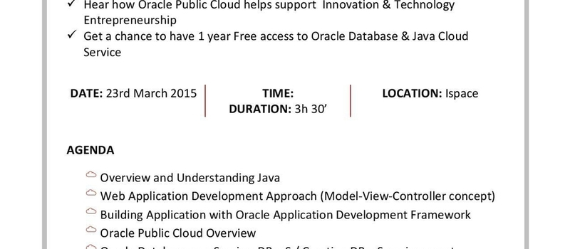 Oracle Knowledge Transfer Session